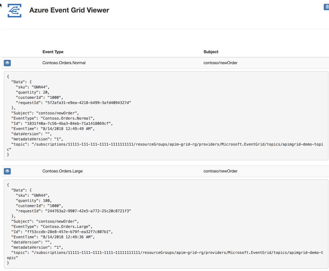 Publishing to Event Grid from Azure API Management – Made of