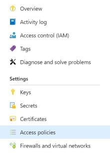 KeyVault-AccessPolicies